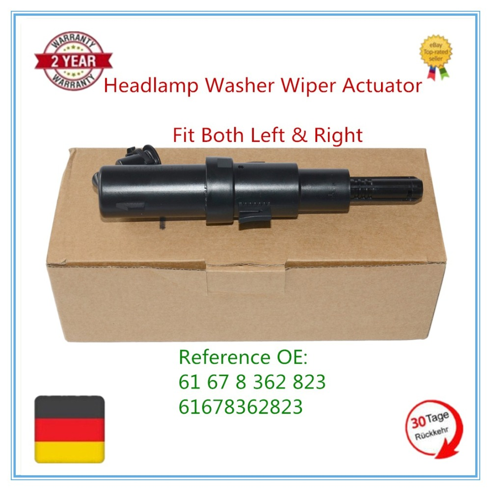 61678362823 Right or Left Headlight Washer Cylinder Fit For BMW E46 316i 318i 320i 323i 325i 328i 330i 318ci 320ci 323ci 325ci