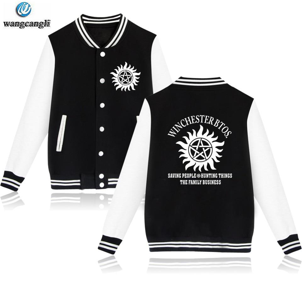 Unisex Activewear Hoodie Supernatural Angel/&Hunter Pullover Sweats Coat Tops New