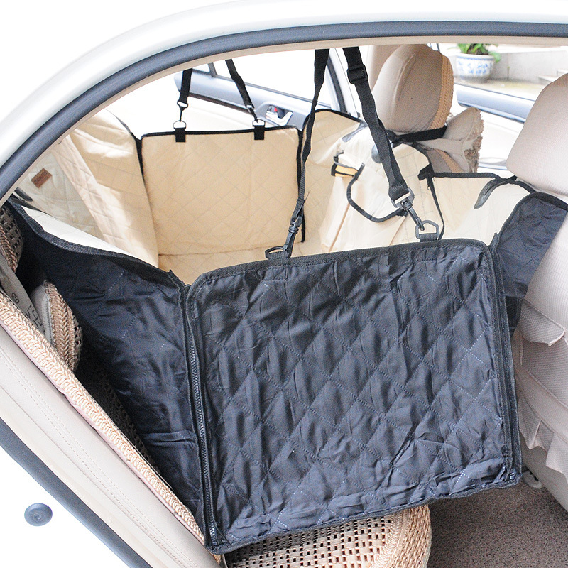 New Pet Carrier Carrying Dog Oxford Car Pet Seat Cover Back Seat Waterproof Pet Mat Hammock