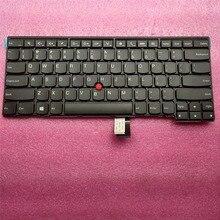 цена на Free shipping New Original for Lenovo ThinkPad T450 T450S US English Keyboard