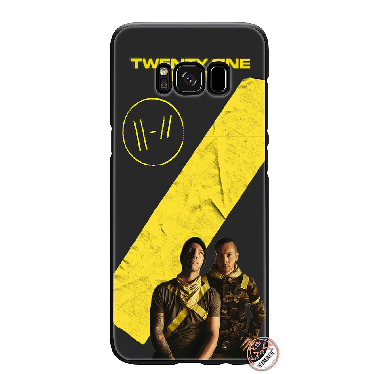 US $2 48 17% OFF|YIMAOC twenty one pilots Trench Soft Silicone Phone Case  for Samsung Galaxy S10 Plus S9 S8 Plus S6 S7 Edge S10e E Black Cover-in