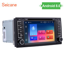 Seicane Android 8.0 Car DVD Player For VW T5 Multivan Touareg Transporter support 3G WiFi OBD2 Mirror Link GPS Navigation(China)