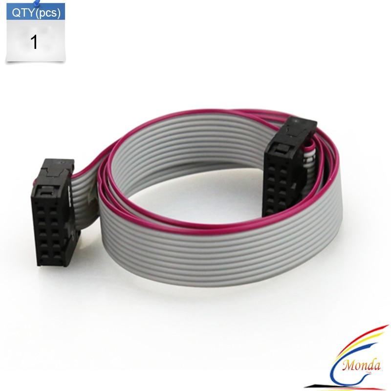 5pc/lot AWM 2651 105C 300V 10 Pin Flexible Flat Ribbon Cable Gray ...