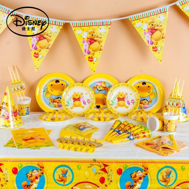 Disney Winnie The Pooh Kids Birthday Party Decoration Set Party