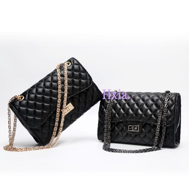 Free shipping, 2017 new handbags, fashion trend messenger bags, single shoulder retro diamond lattice chain women bag.