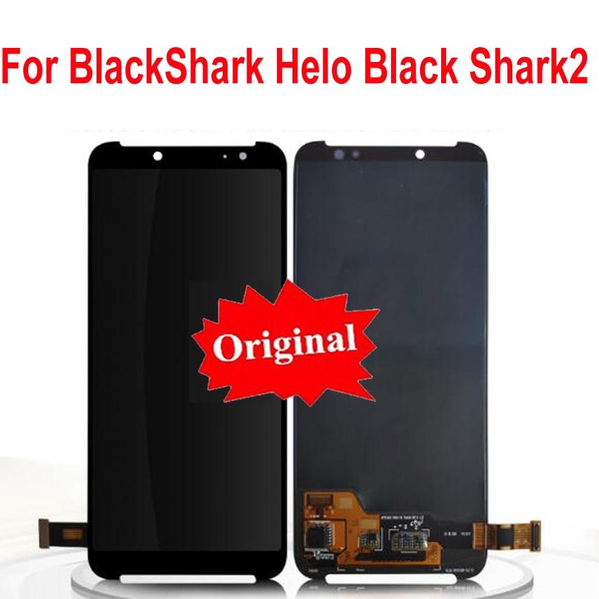 LTPro Original testé bien LCD écran tactile numériseur assemblée capteur pour Xiaomi BlackShark Helo noir Shark2 requin 2