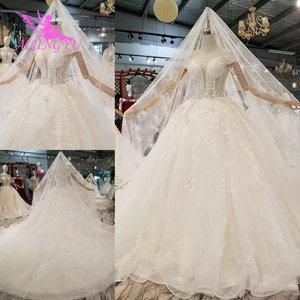 Image 4 - AIJINGYU فستان أبيض بسيط ثوب فاخر متجر الصين Frocks المشاركة الكرة ارتداء للعروس على الانترنت بيع خمر زي العرائس