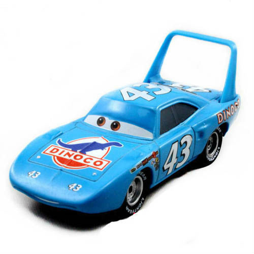 Free shipping Origianl Pixar Cars the King NO.43 Dinoco Racer Dicast figure toys loose HOT SALE