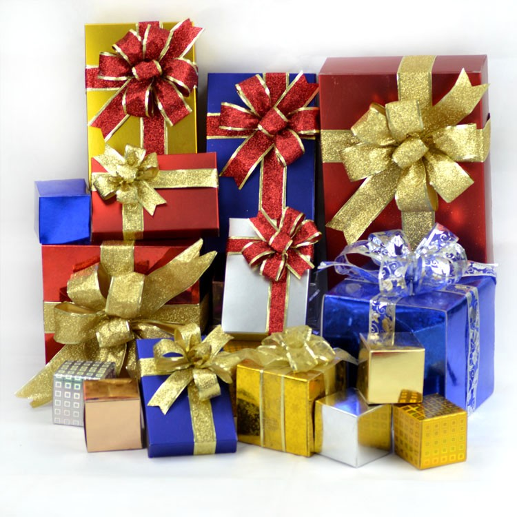 ჱ50mm Christmas Tree Decoration Ribbon Room Decoration Party