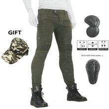 2019 новые джинсы для езды на мотоцикле мужские и женские мотокросса внедорожные мотоциклетные джинсы для езды по колено мото байкерские джинсы брюки