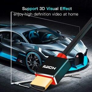 Image 4 - SL Cavo HDMI Ad alta velocità Supporta Ethernet,4K,1080P 3D e Canale di Ritorno Audio Più Nuovo Standard di 1M 2M 3M