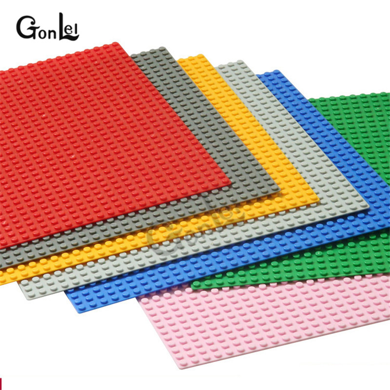 NEW Base Plates <font><b>32*32</b></font> Dots City Mini MOC Brick Baseplates 26cm*26cm DIY Kids Blocks Base Compatible with Minecrafted Figures Toy image