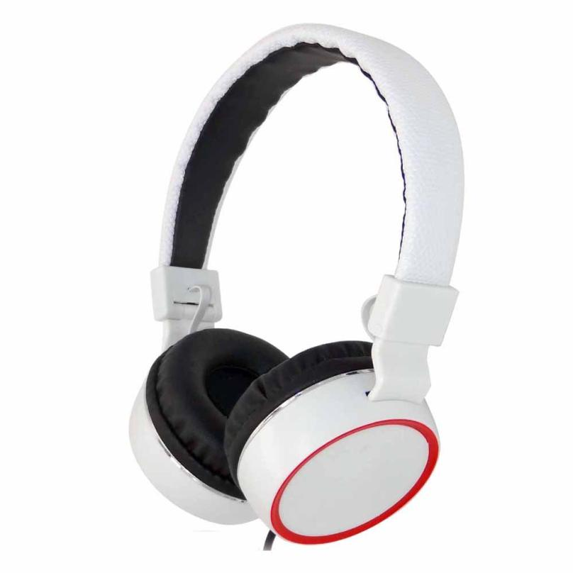 HL   Headphones Earphone Headset Stereo Wired with Mic for Smartphone MP3/4 PC fe20E24#3