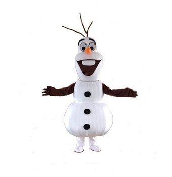 Adult Size Smiling Olaf Mascot Costume Olaf Costume Oalf Mascot Free Shipping
