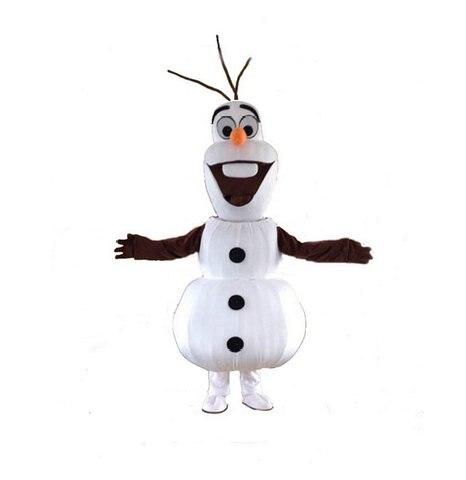 2015 taille adulte souriant Olaf mascotte Costume Olaf Costume oalf mascotte livraison gratuite