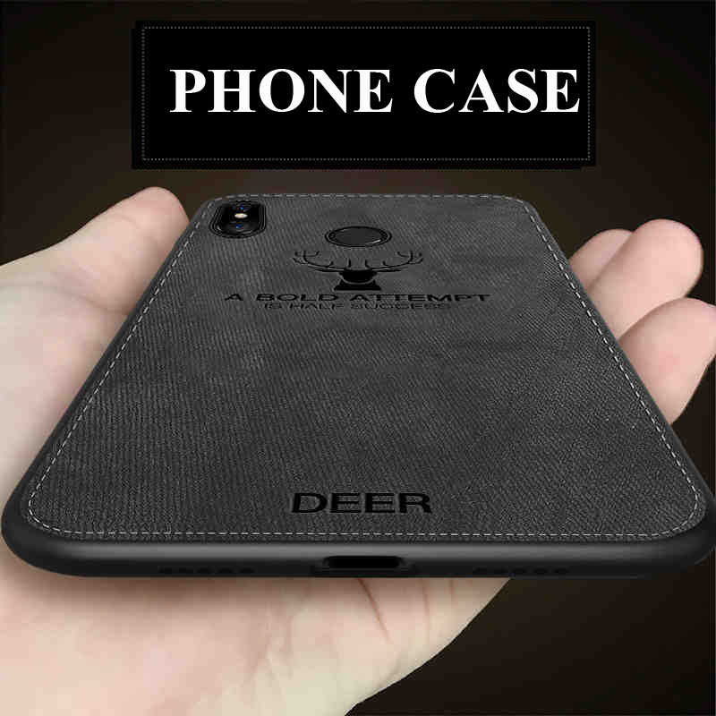 Soft TPU Cloth Phone Case For Xiaomi A2 Lite F1 Mi 8 Mi 6 5 Max 2 Max 3 Mi A2 Lite Case for Redmi 6 Pro 5 5 Plus 6A 6 Cover Case