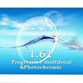Index1.61 resistencia al impacto Cr-39 lentes recetados multifocal Progresiva y fotocromático delgada/de lectura antiarañazas