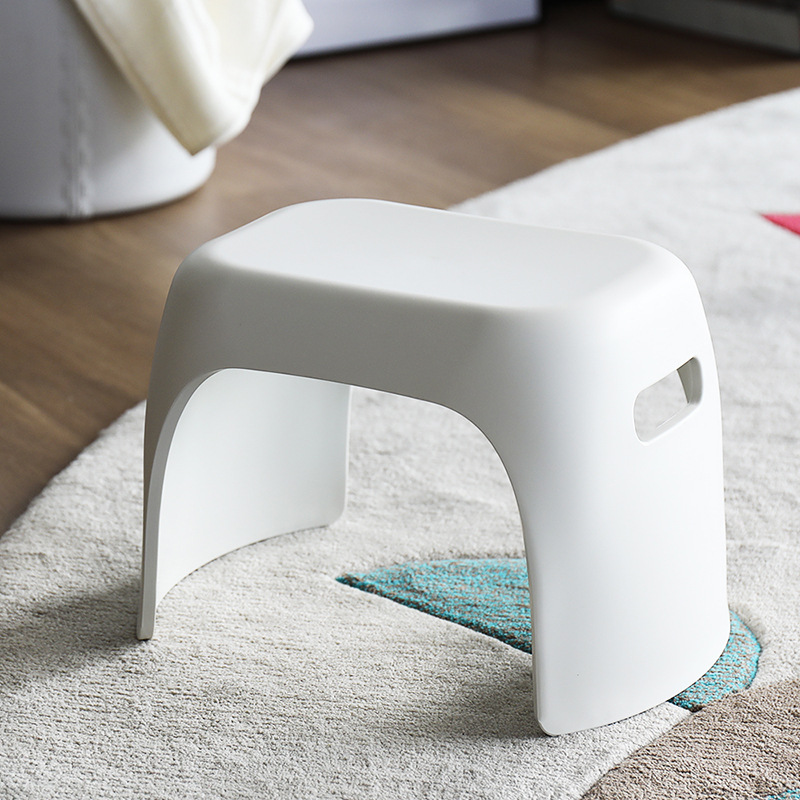Plastic stool children's bathroom non-slip small bench fashion shoes bench thick and firm home kids furniture kids chair baby