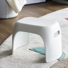 Plastic stool children's bathroom non-slip small bench fashion shoes bench thick and firm  home kids furniture kids chair baby solid surface stone small bathroom step stool bench chair bathroom steam shower stool 16 x 12 inch rs111
