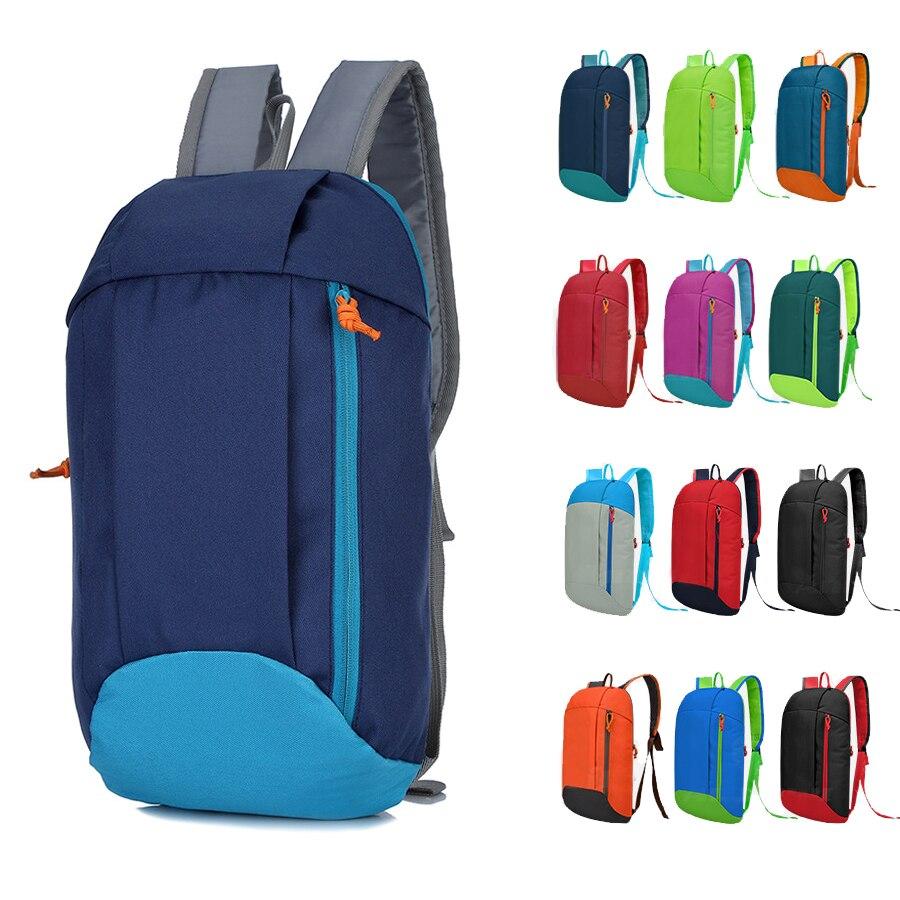 Spor spor çanta erkekler kadınlar için sırt çantası naylon kadın pembe siyah spor eğitim seyahat alışveriş şehir yürüyüş çocuk küçük sac de