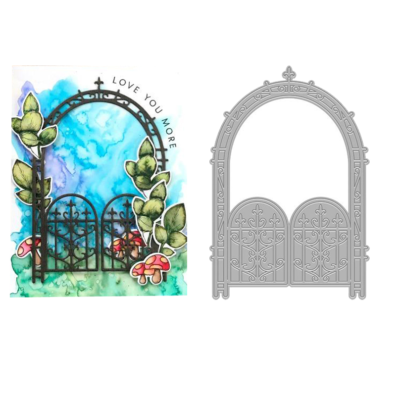 Buy garden metal gate and get free shipping on AliExpress.com