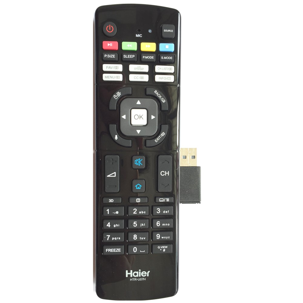 US $22 0 |HTR U07H Remote Control For Haier Smart TV with Android Operating  System & Wi Fi Connectivity LE50B7500U LE55B7500U-in Remote Controls from