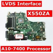X550ZA A10 7400 cpuメインボードrev 2.0 asus X550ZA X550ZE X550Z X550 K550Z X555Z VM590Zノートパソコンのマザーボードgm 100% テスト