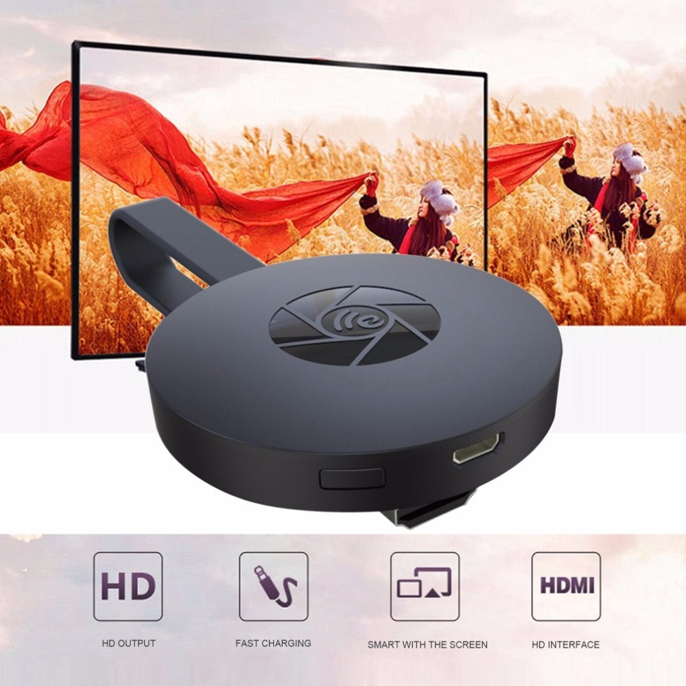 Digital Wireless HDMI Media Video Streamer pk Google Chromecast With Screen Support 1080p HD Picture Intelligent