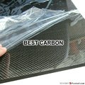 4.0 мм x 400 мм x 500 мм 100% углеродного волокна плиты, Жесткая пластина, Углеродного волокна ламинат, Углепластика лист