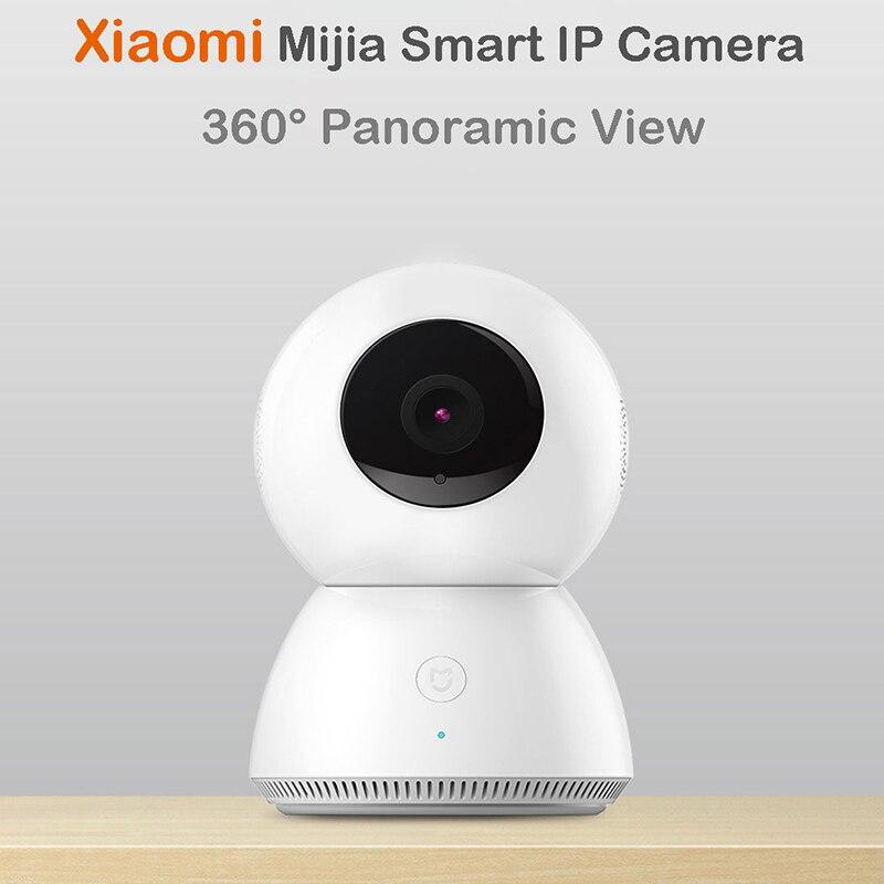 Original Xiaomi Mijia Smart Camera Night Vision Webcam IP Camera Camcorder 360 Angle Panoramic WIFI Wireless 1080P baby camera xiaomi mijia smart temperature control