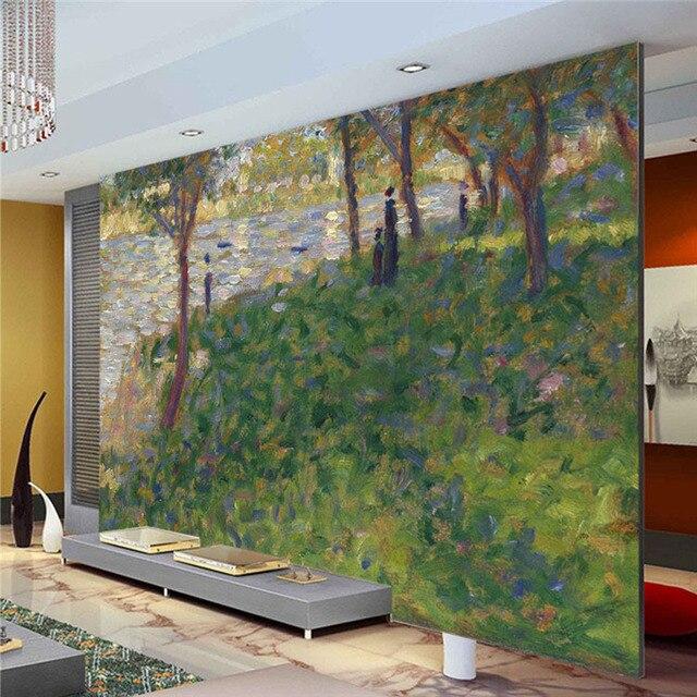 Benutzerdefinierte ber hmte malerei wandmalereien claude for Wohnzimmer quadratmeter berechnen