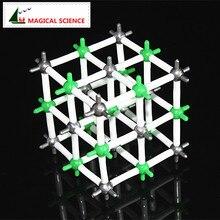 9 мм NaCl Кристалл структурная модель хлорид натрия модель для химических студентов