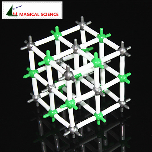 wholesale 9mm NaCl crystal structural model Sodium chloride model for Chemical students