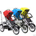 16inch Folding Mother Bicycle Carrinho 3 in 1 Mother Bike Baby Strollers including Rain Cover 3 Wheels Convertible Pushchair