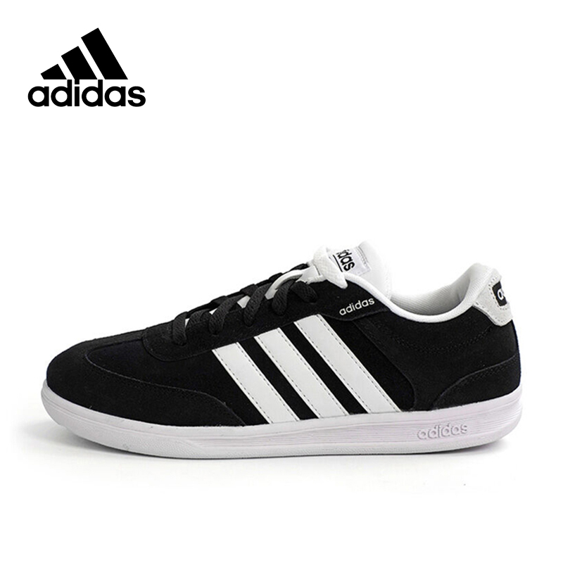 Official New Arrival Adidas NEO Label CROSS COURT Men's Skateboarding Shoes Sneakers adidas original new arrival official neo women s knitted pants breathable elatstic waist sportswear bs4904
