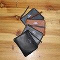 Multi-colores caja de la moneda del monedero de las mujeres de piel de becerro de cuero genuino moda titular de la tarjeta Mini carpeta del envío libre