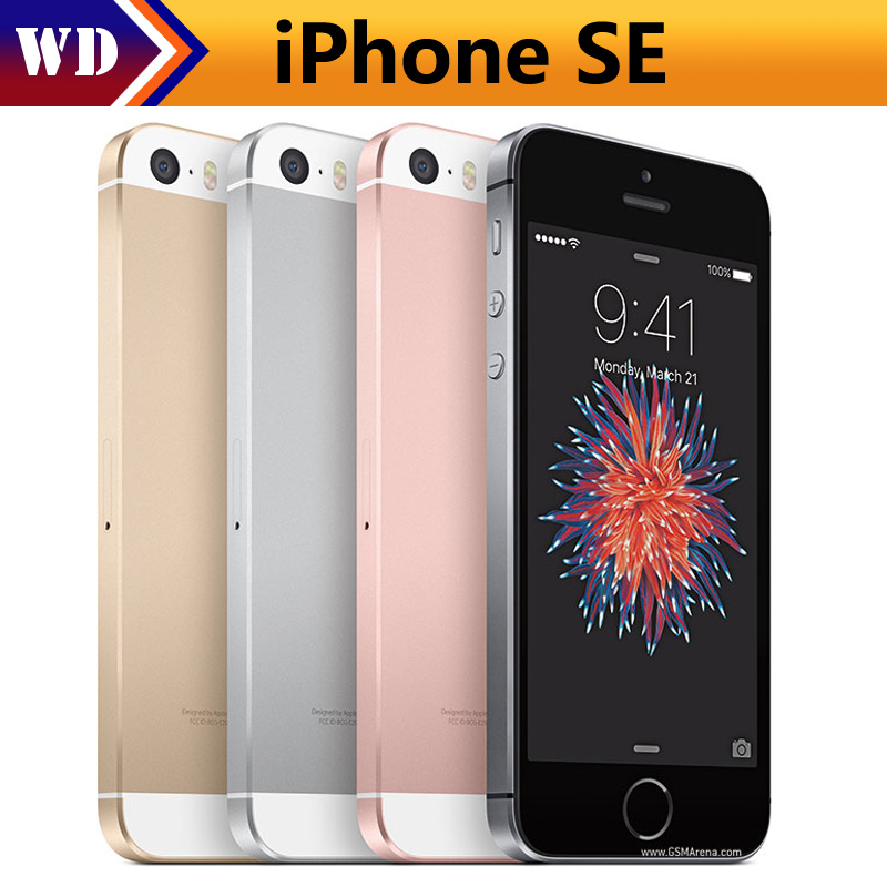 buy original unlocked apple iphone se dual core ios mobile phone 4 0 ips 16. Black Bedroom Furniture Sets. Home Design Ideas