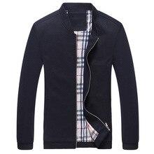 2016 Khaki Schwarz Blau Casual Frühling Herbst Winter Reißverschluss Jaqueta Masculina Marke Kleidung Jacke Männer Jacke