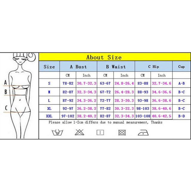Large Size 2019 Sexy One Piece Swimsuit Female Women Vintage Swimwear High Neck Bandage Criss Cross Back Monokini XXL