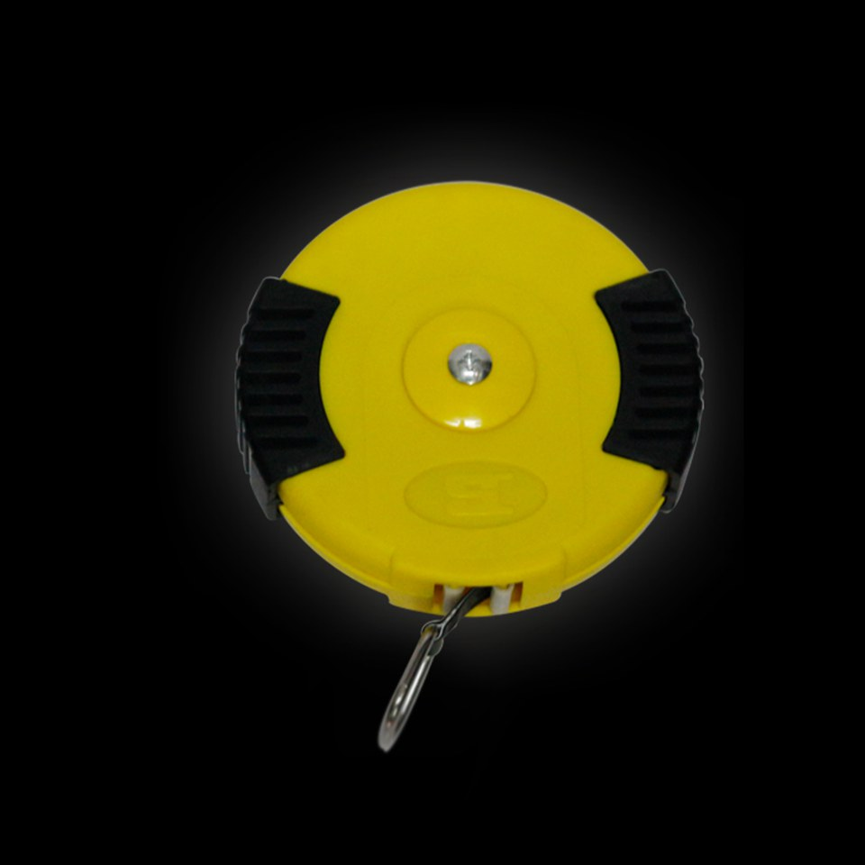 Image 2 - 100cm Magnetic Measuring Tape Magnet Ruler In Yellow MO 203