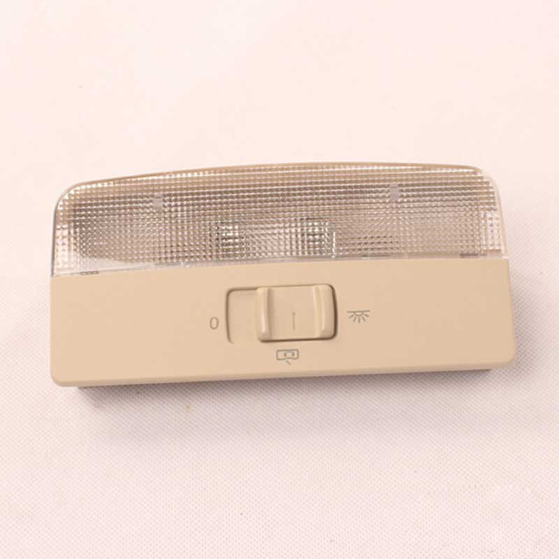 Rear Reading Lamp Dome Light Grey Beige for Skoda Octavia Fabia VW Polo Front Dome Light Reading Auto Replacement Part Supplies car rear trunk security shield cargo cover for volkswagen vw tiguan 2016 2017 2018 high qualit black beige auto accessories