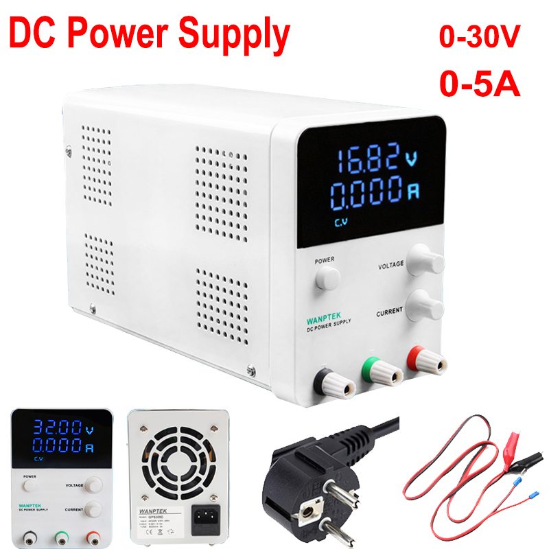 High Precision Adjustable Digital DC Power Supply Input 220V Output 30V/5A For Scientific Research Service Laboratory and School