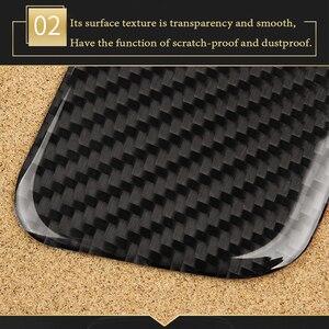 Image 3 - BOOMBLOCK 2x 자동차 대시 보드 공기 배출구 커버 탄소 섬유 스티커 액세서리 장식 자동차 현대 투손 2015 2016 2017