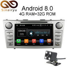 Sinairyu Android 8.0 8 Core 4G RAM Car DVD GPS For Toyota Camry 2006 2007 2008 2009 2010 2011 WIFI Autoradio Multimedia Stereo