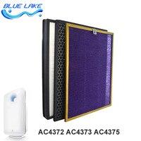 Original oem  Para AC4372 / AC4374 filtro conjuntos  Formaldeído filtro / filtro de carvão / hepa  Ac4151 4153 4154  Peças de purificador de ar