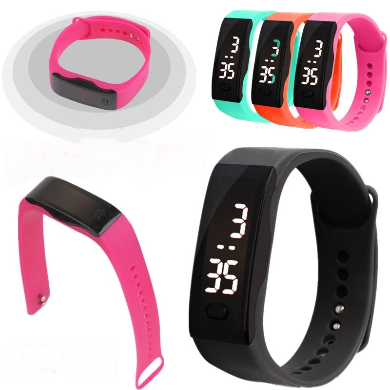 Digital watch Led watch Men Women Sports watches Student watch LED clock