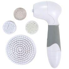 Соник чистка лица кисть вращение водонепроницаемый электрическая щетка для отшелушивающего массажа