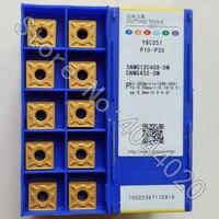 SNMG120408-DM YBC251 SNMG432-DM YBC251 10pcs ZCC-CT pastilhas de metal duro
