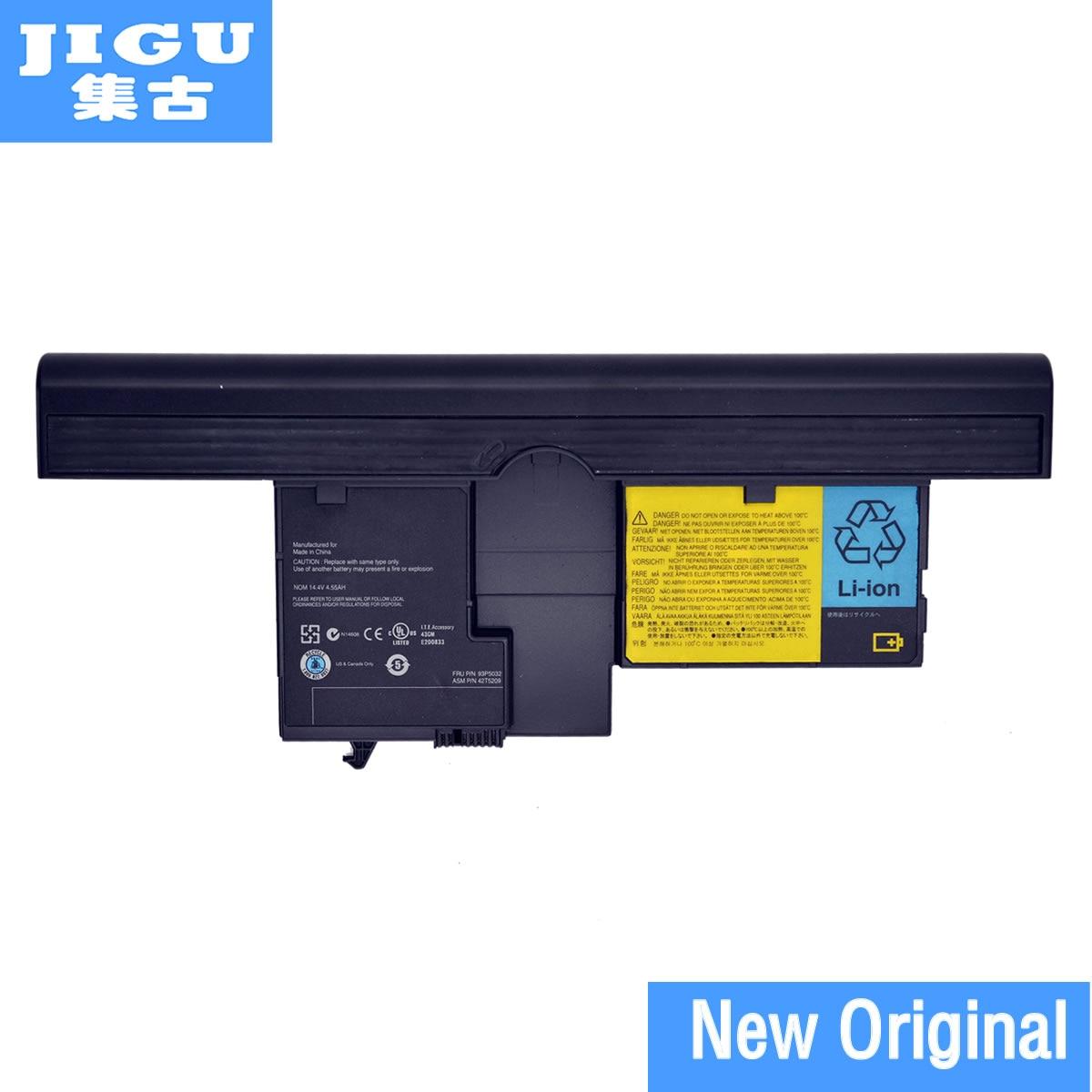 Jigu 40Y8314 40Y8318 42T5209 42T5204 42T5206 42T5208 оригинальный ноутбук Батарея для <font><b>Lenovo</b></font> для ThinkPad X60T X61T X60 <font><b>X61</b></font> Планшеты PC