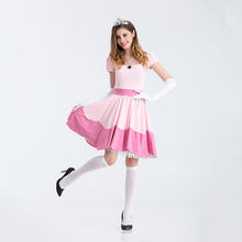Cosplay Princess Peach Costume
